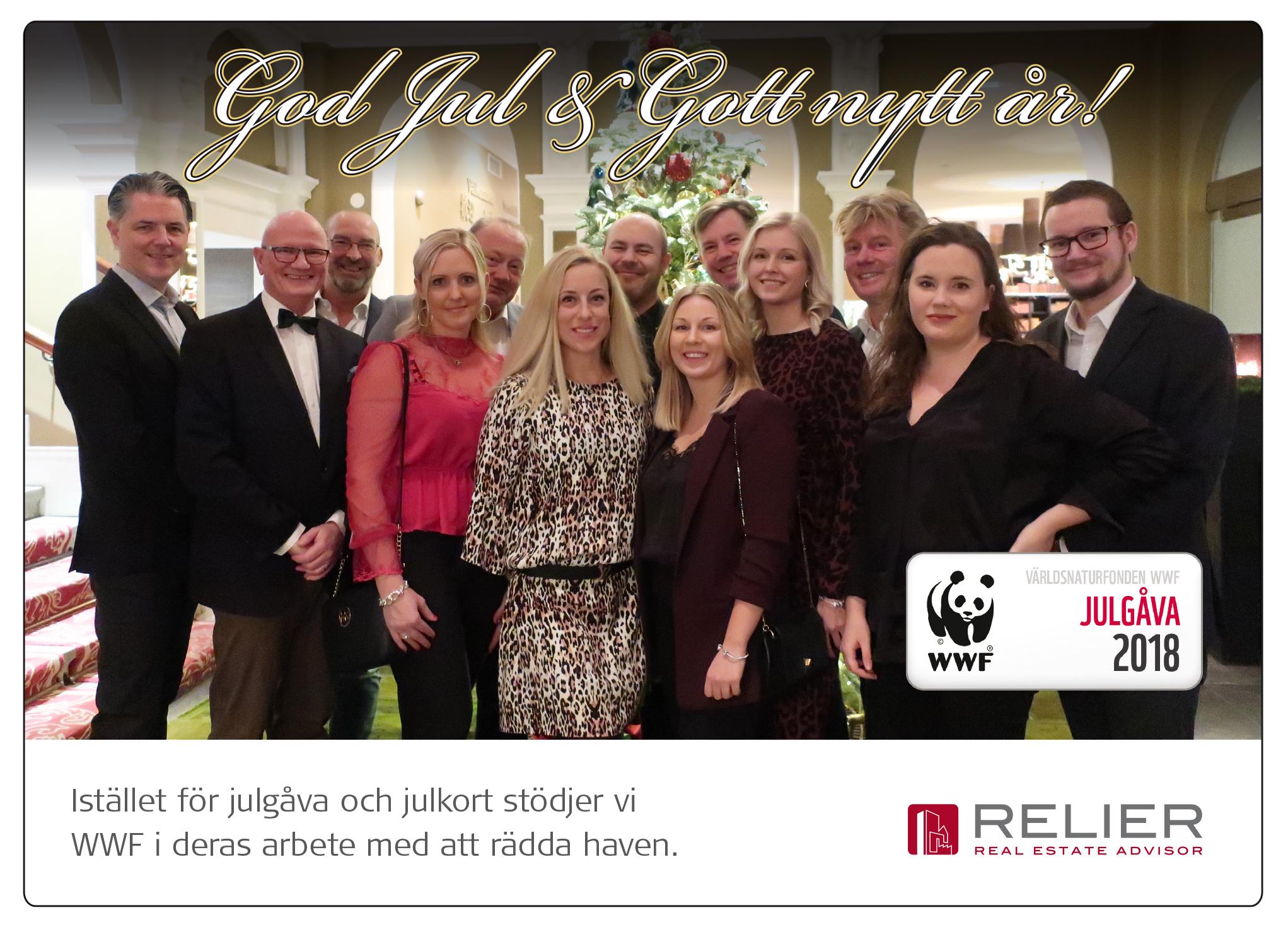 God jul från oss på Relier