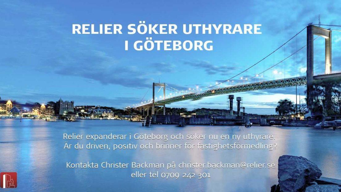 Lokalförmedlare till Göteborgskontoret