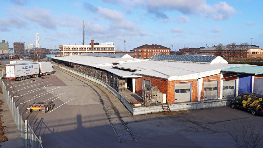 Logistikfastigheten Malmö Havet 5 i Nyhamnen förmedlad till Castellum