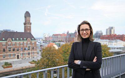 Nytillskottet Sanja Djordjevic har genomfört sin första egenarbetade fastighetsförmedling hos Relier