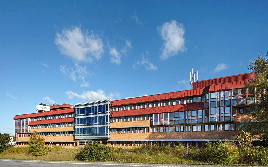 Kontorsuthyrning till hyresgäst Enercon, Jägershillsgatan 18, Malmö