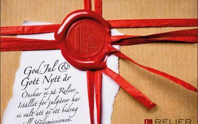 God Jul & Gott Nytt år önskar Relier