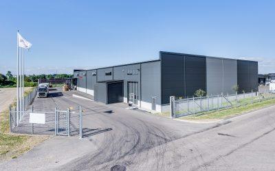 Budbee etablerar sig med ny terminal i Helsingborg.