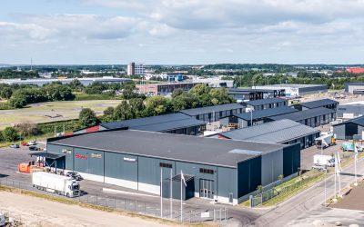 Två lager- och logistikfastigheter på Väla Södra i Helsingborg har överlåtits.